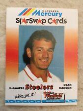 DEAN HANSON 90s Illawarra Steelers Mercury Star Swap Westfield Nrl Card