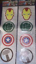 Marvel Avengers Window Stickers. Iron Man Captain America Incredible Hulk & Thor