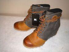NEW Womens SOREL 1964 Premium Wedge Boot Sz 10 M Elk Brown #NL2264-286