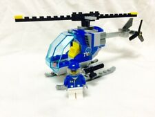 Lego Town City Square Lego Helicopter + Figure Mint 60097/60026/60200/8404/7641
