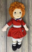 "Vintage Applause Little Orphan Annie Doll 1982 16"" Stuffed Animal Lovey Plush"
