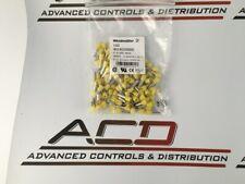 Weidmuller Inc. 9019220000 Yellow Wire Ferrule Connector DIN