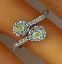 Yellow Solitaire Fine Diamond Rings