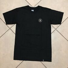 HUF GALAXY CLASSIC H T SHIRT BLACK SIZE SMALL NEW WITH TAGS
