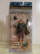 Lord of the Rings Return of the King PIPPIN IN ARMOR with helmet and sword MOC