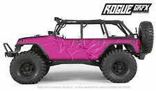 Axial SCX10 Rubicon or CRC Edition Body Graphic Wrap Skin- Tribal Pink