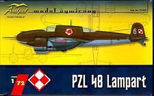 Ardpol Models 1/72 PZL 48 LAMPART Polish WWII Bomber Prototype