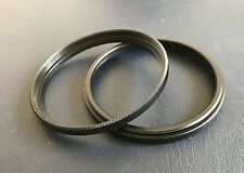 77-77 Step Spacer tube filter extension ring Adapter male female 77mm Pack of 2