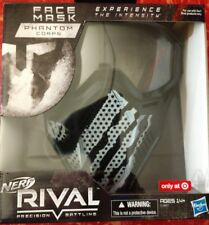 New Target Exclusive! NERF Rival Phantom Corps Face Mask, Hard to find!