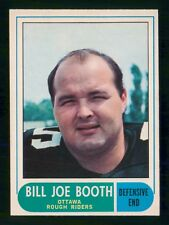 BILLY JOE BOOTH  1968 O-PEE-CHEE CFL 1968 NO 22 NRMINT+  25194