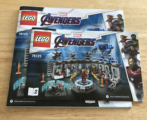 LEGO 76125 Iron Man Hall of Armor INSTRUCTIONS ONLY