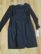 "DKNY BLACK DRESS - SIZE 12 - 36"" LONG - ZIPPER ON THE BACK -"