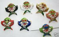 50 18mm Fish Mix Handmade Cloisonne Beads