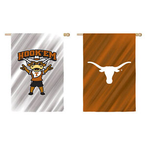 University of Texas Double Sided Suede House Flag