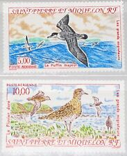 ST. PIERRE MIQUELON SPM 1993 654-55 C69-70 Migratory Birds Zugvögel Vögel MNH