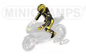 MINICHAMPS 312 110876 Rossi figure Ducati MotoGP Valencia Test 2010 1:12th