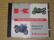 Werkstatthandbuch Kawasaki Ninja ZX-9 R - Original CD