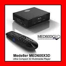 Mede8er MED600X3D Ultra Compact 3D High Definition Multimedia Player, HDMI 1.4