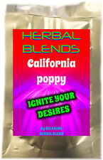 Herbal Unique Blend coated with California Poppy resin 6GM sachet or sticks