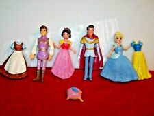 Polly Pocket Disney Princess Snow White Cinderella  Outfits & PRINCES (F3)