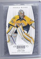 11-12 2011-12 DOMINION PEKKA RINNE BASE CARD /199 53 NASHVILLE PREDATORS