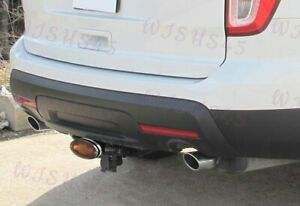 """For 2"""" & 1.25"""" Bully Hitch Cover Rear Receiver for Chevrolet w/ LED Brake Lights"""