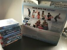 Sony ps3 playstation move sports champions bundle 320gb plus 11 games