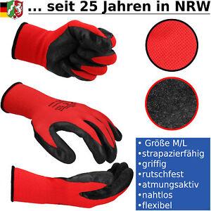 Gartenhandschuhe Arbeitshandschuhe Beethandschuhe Nitril Handschuh Einheitsgröße