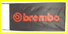BREMBO FLAG BANNER  calipers brakes 5 X 2.45 FT 150 X 75 CM