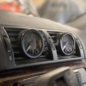 """BMW 3 SERIES E46 2""""/52mm Gauge Pod Support Holder - Center Air Vent"""