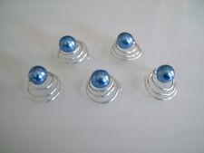 Lot Bijou/Perle/Spirale Cheveux court détachés robe de Mariée/Mariage Bleu moyen