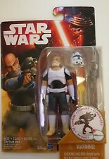 Star Wars Rebels Captain Rex 3.75 Inch Figure Sealed