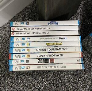 Wii U Bundle of Games! 9 Total in lot!