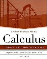 Calculus : Single and Multivariable by Deborah Hughes-Hallett