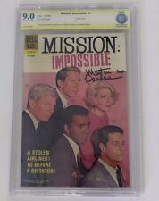 CBCS Graded 9.0,  Mission Impossible No. 4, 10/1968 , Signed by Martin Landau