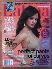 Latina Magazine Judy Reyes On Cover October 2007 Vol. 12 No.1