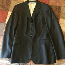 Grand Prix Hunt Coat, 14T, Wool, w/Pinstripe