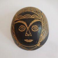 Masque sculpture bois fait main handmade Afrique XXe art déco design PN France