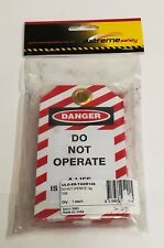CABAC - DO NOT OPERATE DANGER TAGS, SUITS SWITCHBOARDS, RCD'S CB'S & MANY MORE
