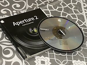 Genuine Apple Aperture Version 2 Excellent Working Condition