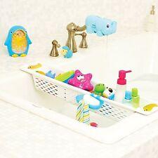 Juguetes Para El Baño titular ordenado Canasta Organizador Extensible En Baño Estante