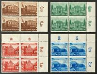 Germany. German Reich. Leipzig Fair with Tabs. SG752/55. 1941. MNH. #SC40