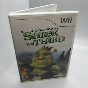 Shrek the Third (Nintendo Wii, 2007) Tested Working Free Shipping