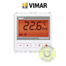 Vimar 20440.B - Termostato per residenziale bianco