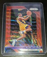 2018-19 Panini Prizm Kobe Bryant Ruby Red Wave Card #15 Los Angeles Lakers