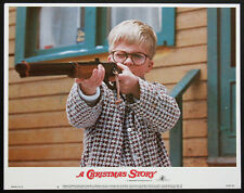 A Christmas Story Peter Billingsley Red Ryder Bb Gun Scene 1983 Lobby Card #6