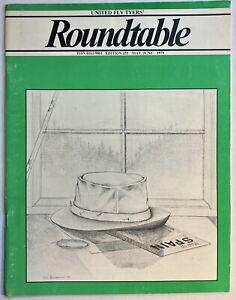 Vintage Fishing Publication United Fly Tyers Roundtable 1979 #155 Tye Fisherman