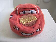 """Disney Pixar Car Lightning MCQUEEN RUST EZE BUMPER OINTMENT19"""" Soft Pillow Plush"""