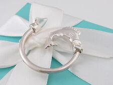 Tiffany & Co Silver Trout Fishing Fish Hook Key Ring Key Chain Keychain