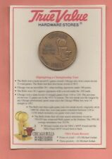 More details for nba chicago bulls fine bronze limited edition nba champions coin